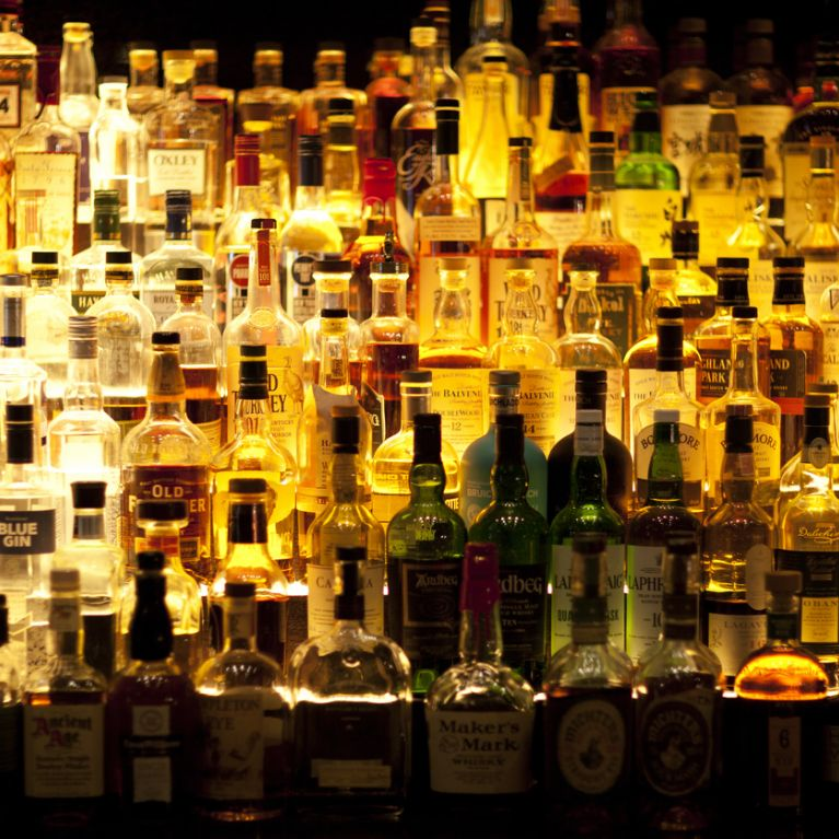 Bottiglie alcoliche